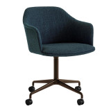&tradition Rely HW51 gestoffeerde bureaustoel