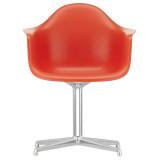 Vitra DAL stoel met gepolijst aluminium onderstel