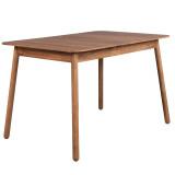 Zuiver Glimps uitschuifbare tafel 120/162x80