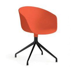 Hay About a Chair AAC20 stoel zwart onderstel