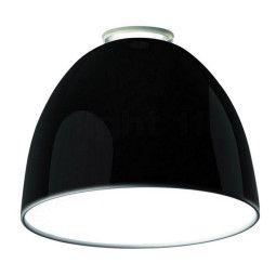 Artemide Tweedekansje - Nur mini gloss plafondlamp zwart