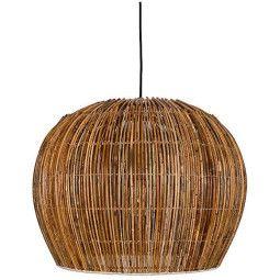 Ay illuminate Rattan Bell hanglamp small