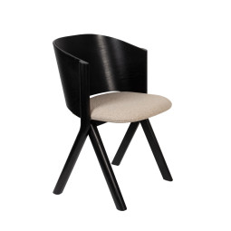 Banne Twigs stoel zwart