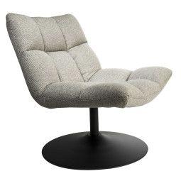 Dutchbone Tweedekansje - Bar fauteuil lichtgrijs