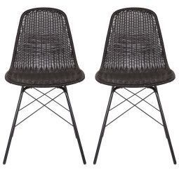 BePureHome Spun stoel set van 2