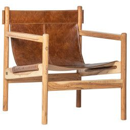 BePureHome Chill fauteuil leer
