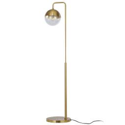 BePureHome Globular vloerlamp antique brass