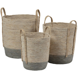 BePureHome Indian corn baskets mand set v3