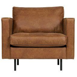 BePureHome Tweedekansje - Rodeo classic fauteuil cognac