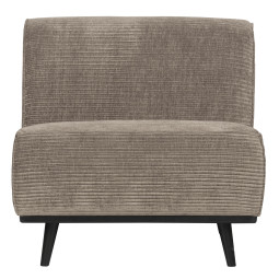 BePureHome Statement fauteuil rib