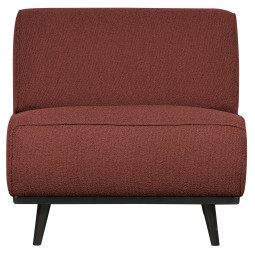 BePureHome Statement Fauteuil zonder arm Boucle