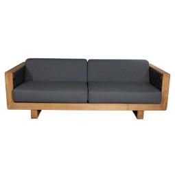 Cane-Line Angle 3-zits loungebank