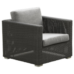 Cane-Line Chester Lounge fauteuil graphite