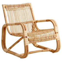 Cane-Line Curve Lounge fauteuil