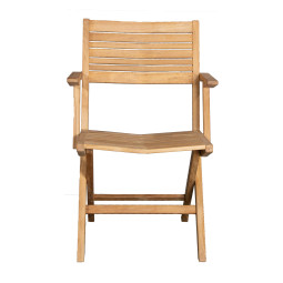 Cane-Line Flip klapstoel met armleuning