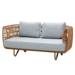 Cane-Line Nest Outdoor 2-zits loungebank