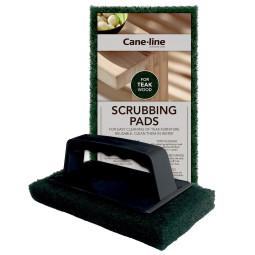 Cane-Line Teak Green Scrubbing pads onderhoud 2 stuks