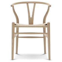 Carl Hansen & Son Tweedekansje - CH24 Wishbone stoel Classic Natural wit geolied eiken