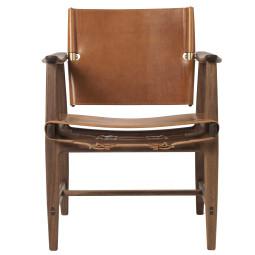 Carl Hansen & Son BM1106 Huntsman fauteuil walnoot