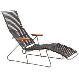 Houe Tweedekansje - Click Sunlounger ligstoel black