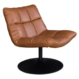Dutchbone Bar fauteuil vintage bruin