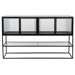 Dutchbone Boli dressoir high black