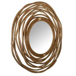 Dutchbone Kubu spiegel rond