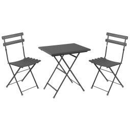Emu Arc en Ciel tuinset 70x50 tafel + 2 stoelen