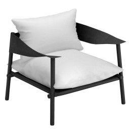 Emu Terramare lounge fauteuil black
