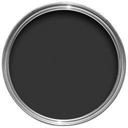Farrow & Ball Hout- en metaalverf buiten Pitch Black (256)