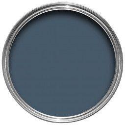 Farrow & Ball Hout- en metaalverf buiten Stiffkey Blue (281)