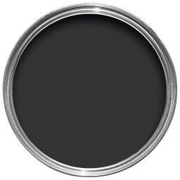 Farrow & Ball Hout- en metaalverf binnen Pitch Black (256)