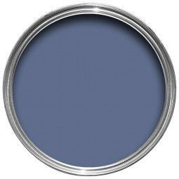 Farrow & Ball Hout- en metaalverf binnen Pitch Blue (220)