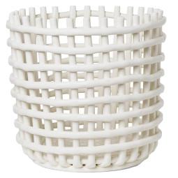 Ferm Living Ceramic basket opbergmand extra large