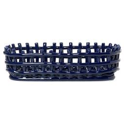 Ferm Living Ceramic basket opbergmand oval