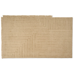 Ferm Living Crease wool vloerkleed 160x250