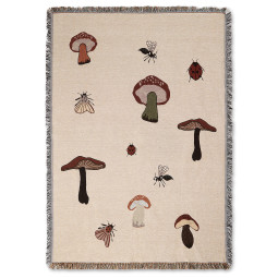 Ferm Living Forest Tapestry plaid