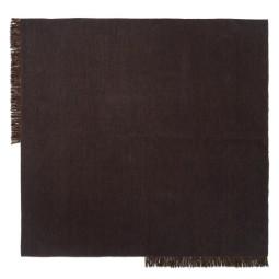 Ferm Living Kelim vloerkleed vierkant 240x240 Dark Melange