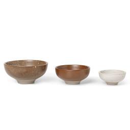 Ferm Living Petite Bowls schaal set van 3