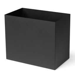 Ferm Living Tweedekansje - Plantenbak Large voor Plant Box Large zwart