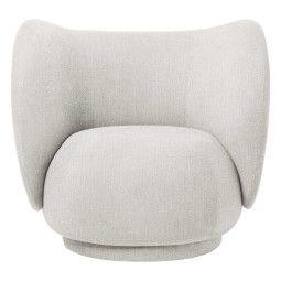 Ferm Living Rico Boucle fauteuil