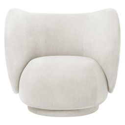 Ferm Living Rico Brushed fauteuil