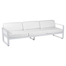 Fermob Bellevie 3 zits loungebank kussen wit