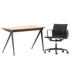 Flinders Alu Chair EA117 & Compas Direction bureau Thuiswerkplek