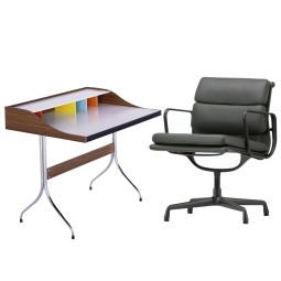 Flinders Aluminium Chair EA 208 & Home Desk bureau Thuiswerkplek