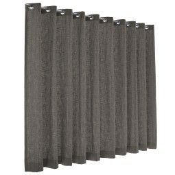 Flinders Emotion gordijn - lichtdoorlatend - warm grey