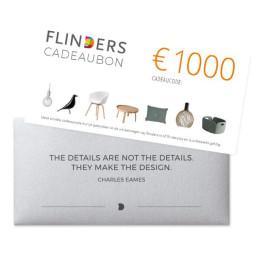 Flinders Flinders Cadeaubon €1000