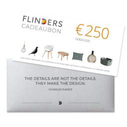 Flinders Flinders Cadeaubon €250