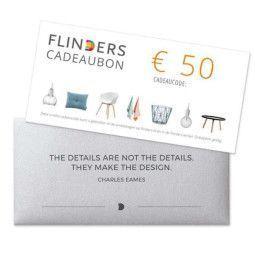 Flinders Flinders Cadeaubon €50