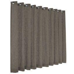 Flinders Impuls gordijn - lichtdoorlatend - grey beige